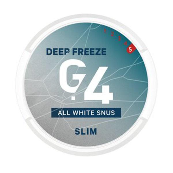 G4 deep freeze