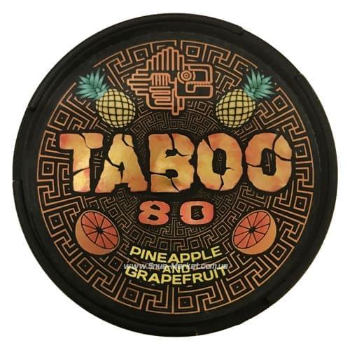 taboo grapefruit pineapple